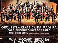 Coro Sinfónico Inês de Castro dá concerto a favor das vítimas da Madeira