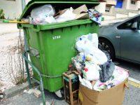 Fim de ano com quatro dias de greve na recolha de lixo