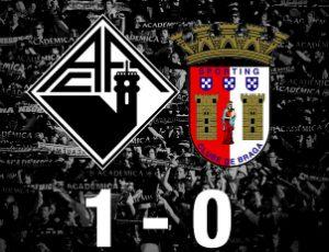 Académica vence Sp. Braga B