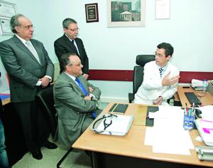 Papel do CHUC no avanço da telemedicina elogiado pelo secretário de Estado