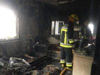 Casal sofre ferimentos e fica desalojado em incêndio numa casa em Catraia de São Paio