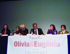 """Estreia nacional de """"Olívia & Eugénio, uma lição de amor"""" amanhã no CAE"""