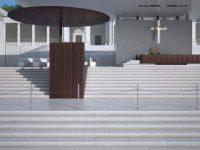 Lugares litúrgicos de Fátima assinados por João Mendes Ribeiro