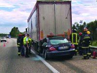 Enfaixou-se em camião e foi arrastado 100 metros na A1 Mealhada