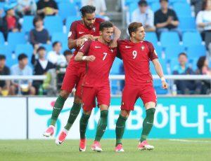 Portugal vence Irão por 2-1 e passa aos 'oitavos' do Mundial sub-20