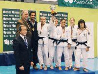 Académica é campeã nacional de judo em femininos