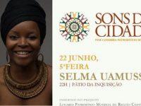 Selma Uamusse e Adriana Calcanhotto nos Sons da Cidade