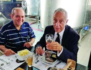 Arnaldo Baptista e Marcelo Rebelo de Sousa