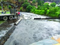 Enxurrada da Serra da Lousã inunda Alvares