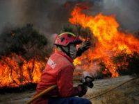 """Quatro fogos mantêm-se ativos no país, mas com """"melhorias"""""""