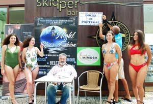 Desfile de moda no passeio marítimo da Figueira da Foz