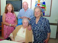 Dona Hermínia apagou  100 velas em dia de festa na Lousã