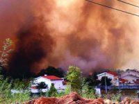 Três frentes de fogo obrigam a evacuar povoações na Lousã
