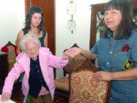 Gabriela assinalou ontem 106 anos