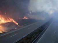 Mais de 20 estradas cortadas pelos fogos