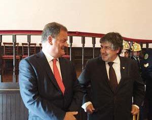 João Ataíde e Lídio Lopes (Foto: DB-J.A.)