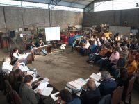 Reunião da Câmara de Cantanhede foi no estaleiro de obras
