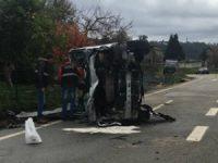 Um morto e cinco feridos no despiste de carrinha com idosos em Sever do Vouga