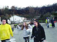 Jovens do Opus Dei de Coimbra em ação de voluntariado em Serpins