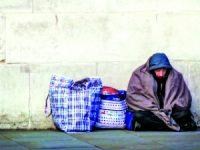 Ajuda a sem-abrigo durante vagas de frio ainda não foi acionada