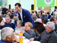 Almoço solidário sénior com 400 convivas em Poiares