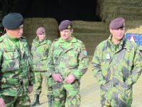 Chefes militares visitaram zonas de apoio às vítimas