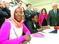 Doze novos refugiados da Eritreia chegaram este mês