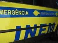 Acidente de trabalho em Nelas deixa jovem de 23 anos gravemente ferido