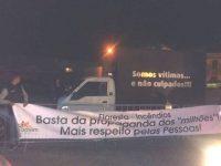 """Protesto dos Agricultores à porta dos """"Prós e Contras"""" da RTP"""