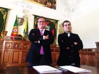 Foto: DB-J.A. João Ataíde e Manuel Castelo-Branco