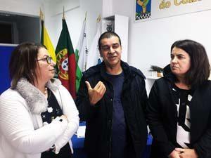 Olga Braz, Manuel Castelo-Branco e Eva Santiago