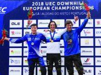 Pardal campeão europeu de Downhill na Lousã