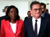 Francisca Van Dunem e João Ataíde