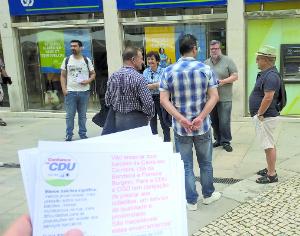 CDU volta a denunciar fecho de balcões da CGD