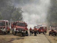 Simulacro de evacuação de incêndio no Piódão