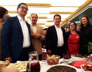 Vereadores e deputados municipais inauguraram o evento
