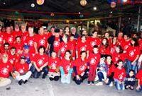 Evento é organizado por voluntários