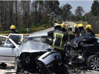 Duas mulheres morreram hoje em acidente no IP3