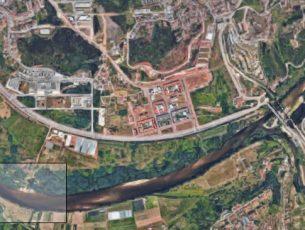 Começa limpeza no Rebolim para criação de praia fluvial