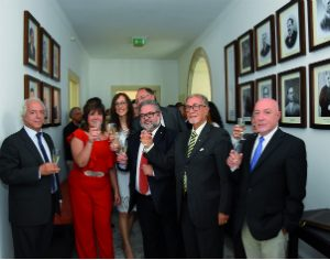 """Antigos presidentes da autarquia juntaram-se ao atual executivo na inauguração da """"galeria"""""""