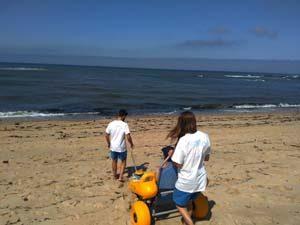 Praia para todos em Buarcos