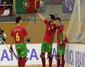 Seleção portuguesa de hóquei em patins joga final europeia hoje com a Espanha