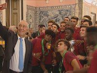 Presidente da República anunciou condecorações para Campeões Europeus Sub-19
