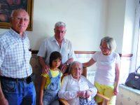 Centenária festejou aniversário no Sarzedo