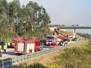 Acidente no IC8 entre Pombal e Louriçal fez seis mortos