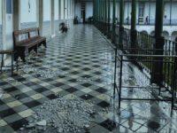 Tempestade Leslie deixa arquitetos sem abrigo na UC