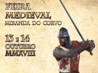 Recriação de torneios na Feira Medieval de Miranda do Corvo