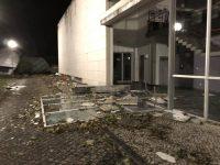 Piscina Municipal de Condeixa-a-Nova destruída e famílias desalojadas