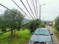 Estragos da tempestade limitam acesso a Silveirinha
