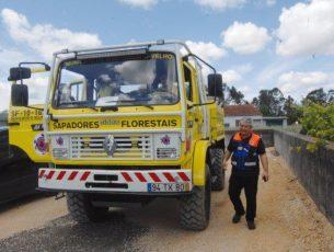 Dispositivo de combate a incêndios testado em Montemor-o-Velho